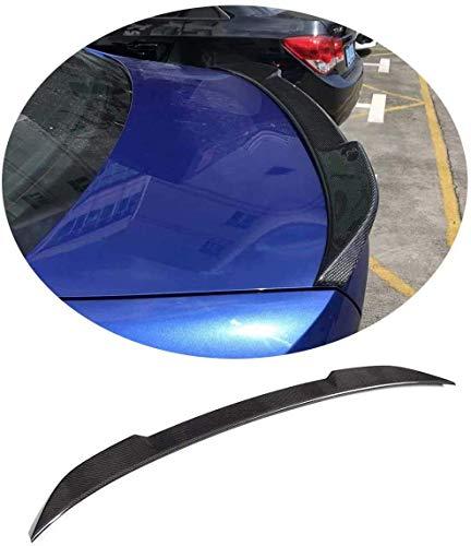 QTCD Suitable for BMW 3 Series G20 320I 330I 330E M340I 318D 320D 330D Sedan 2019 2020 2021 Carbon Fiber Cf Trunk Spoiler Boot Wing