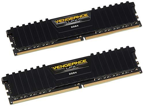 Corsair Vengeance LPX 8Go (2x4Go) DDR4 2400MHz C14 XMP 2.0 Kit de Mémoire Haute Performance - Noir