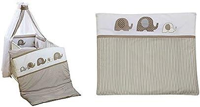 69x69 cm Design:Hippo silber Set ALVI Wickelauflage Wiko Kuschel mit Stoffwindel von Kinderhaus Blaub/är//geeignet f/ür schwedische Kommoden//weiche Thermovliesf/üllung//abwaschbarer Folienbezug