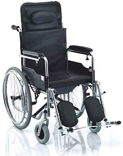AGWa Ali Griffige Klappstuhl, Robust und robust, mit Padded WC-Sitz, Duschhocker für Badezimmer, Fahrrad-Rad für Senioren/schwangere Frauen/Behinderte mit Movable Potty