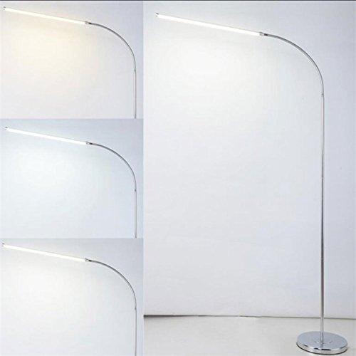 Staande lamp Moderne 9 W 12 W 15 W LED vloerlamp afstandsbediening dimbaar standlicht woonkamer piano lezen standaard verlichting leds bevestiging LED