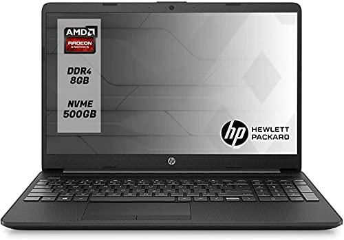 Hp 255 G7 Notebook Ssd Pc portatile Amd A6 3050U Fino A 3.20GHz, Display da 15.6' ,Ram 12 Gb Ddr4 SSd M.2 500 Gb,Radeon R3, Hdmi,DVD,Cd RW,Wi fi,Bluetooth,Windows 10 professional