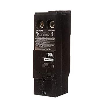 Siemens QN2175RH 175A Double Pole 120/240-Volt 22K type QNRH Circuit Breaker