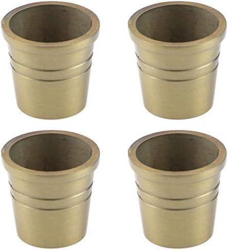 Brass furniture leg caps _image3