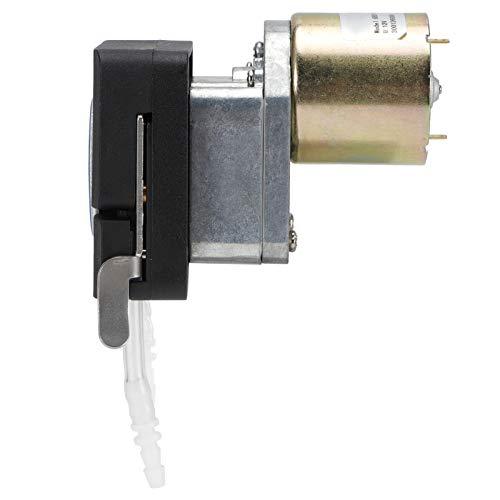 FOLOSAFENAR Bomba de Motor de Bomba peristáltica Ligera de tamaño pequeño de plástico Micro, para Suministro de Tinta, para máquina de Bebidas, para Lavadora