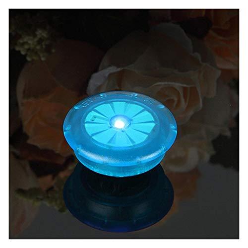 M-JJZX Fahrradlicht mit Batterien Fahrradlicht Reifen Ventilkappen Radspeichen LED Fahrradlichter Berg Rennrad Fahrrad Zubehör (Color : Blue)