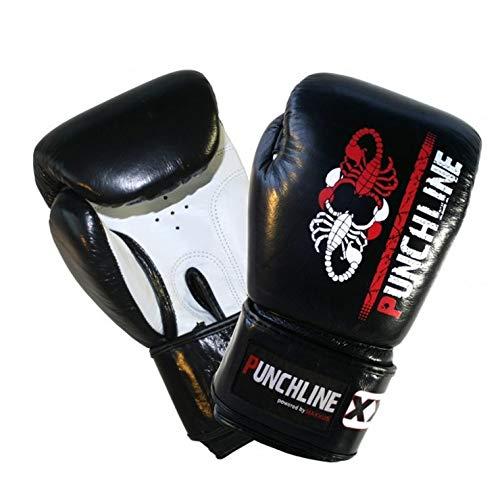 Punchline Erwachsenen Leder Boxhandschuh 14 Unzen - der ideale Herren Boxhandschuh