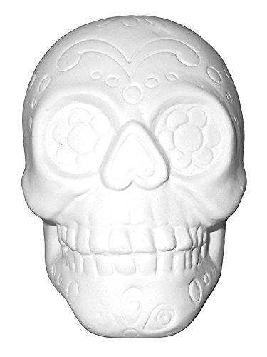 The Lovable Sugar Skull - Paint Your Own Ceramic Keepsake