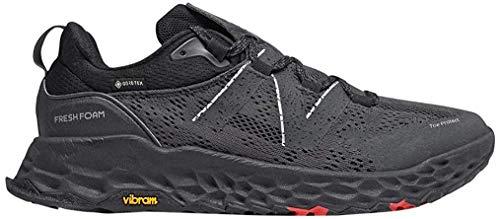New Balance Men's Fresh Foam Hierro V5 Trail Running Shoe, Black/Black, 16 Wide
