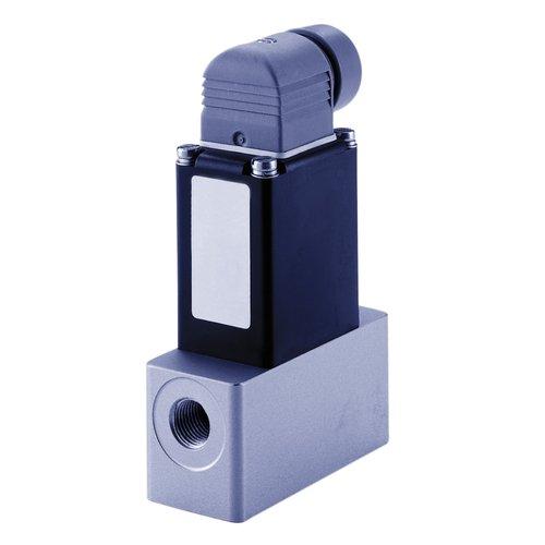 Thomafluid 2/2-Wege-Reinstmedien-Magnetventil aus PTFE, Nennweite: 6 mm, Anschluss-Spannung: 230~ Volt, Werkstoff Dichtung: FFKM, Typ: B