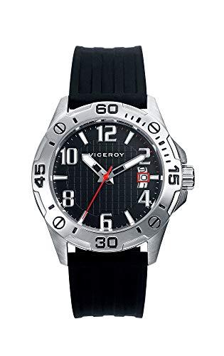 Viceroy Jungen Analog Quarz Uhr mit Silikon Armband 40758-55