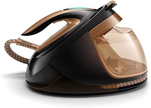 Philips PerfectCare Elite Plus GC9682/80 Ferro da Stiro a Caldaia, Continuo 165 g/min, Colpo Vapore 600g, Serbatoio Estraibile, Pressione 8 Bar, 2700 W, 1.8 Litri, Plastica