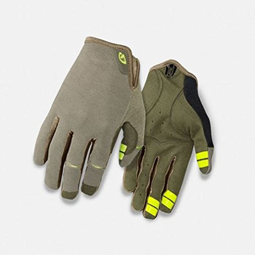 Giro DND Fahrrad Handschuhe lang grÃŒn/gelb 2016: Größe: S (7)