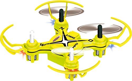 038760 Compo Turbo Quadrocopter mit Kompass, Selbststabilisierende Fluglagenkontrolle, 4 Kanal, 360° Flip, automatische Gasanhebung