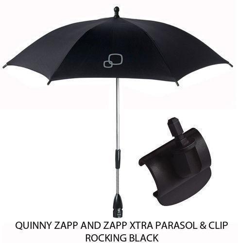 Quinny Sonnenschirm Rocking Black + Clip für Zapp/Xtra/Xtra 2Nicht Quinny Flex