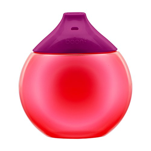 Boon FLUID Sippy Cup, Pink/Purple