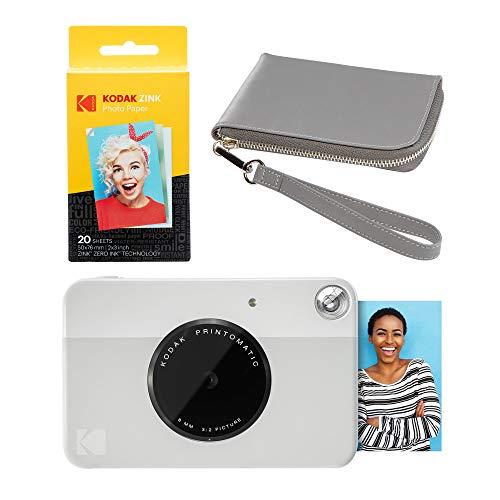 Kodak PRINTOMATIC - Kit de funda para cámara fotográfica (gris), color gris