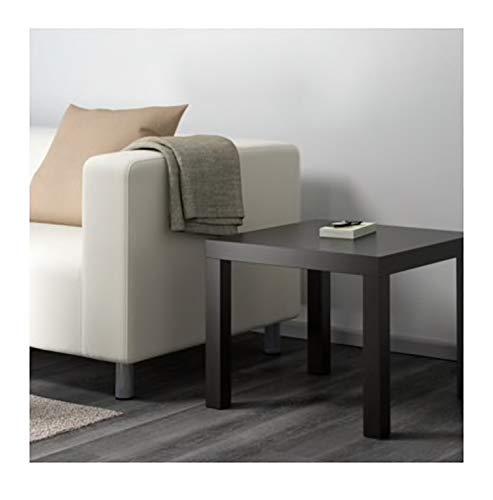 Ikea 200-114-08 Lack Side Table, 55 cm x 55 cm, Black