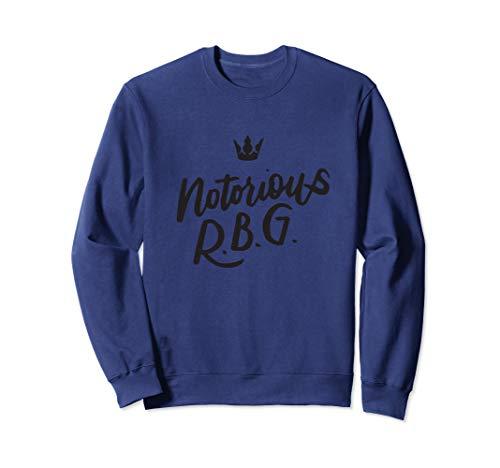 Notorious RBG Sweatshirt Ruth Bader Ginsburg, Feminist Gifts Sweatshirt
