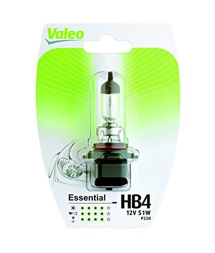 VALEO Ampoules Halogène, HB4-Essential-Blister x1, 32014