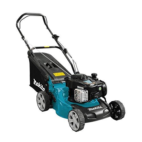 Makita PLM4120N benzine grasmaaier 41 cm, zwart, blauw, grijs