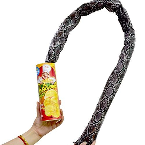 Blppldyci The Potato Chip Snake Can Jump Spring Snake Toy Gift April Fool Day Halloween Party...