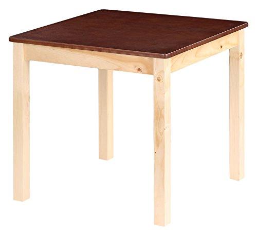 iKayaa Table pour Enfant en pin 60 x 60 x 55 cm