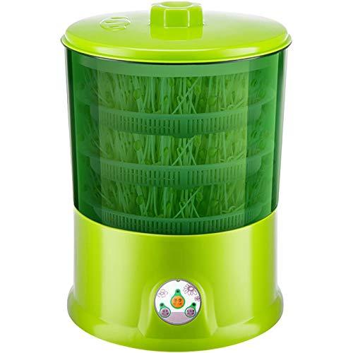 QQSS Sojasprossenmaschine, Intelligenter Automatischer Seed Sprouter, Temperaturregelung Und Automatisches Bewässerungssamen Getreidewerkzeug