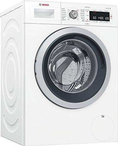 Bosch WAW32541 Serie 8 Waschmaschine Frontlader / A+++ / 196 kWh/Jahr / 1600 UpM / 8 kg / weiß / Fleckenautomatik / Trommelreinigung mit Erinnerungsfunktion