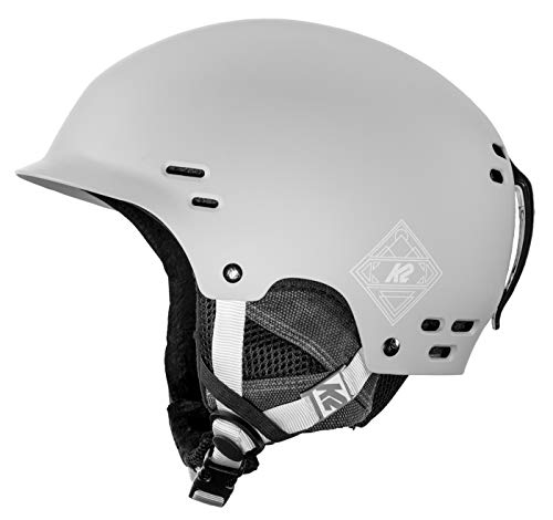 K2 Skis Herren Thrive Gray Skihelm, grau, M