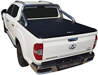 LDV T60 Dual Cab 2017 to Current - To Suit Factory Sports Bar And Over Rail Liner, Clip On Ute Tonneau Cover. Tuff Tonneau...