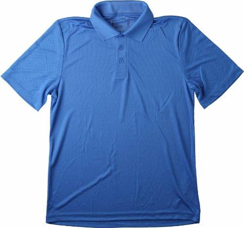 Hanes Polo Col Polo Homme - Bleu (Bleu Marine) - Moyen