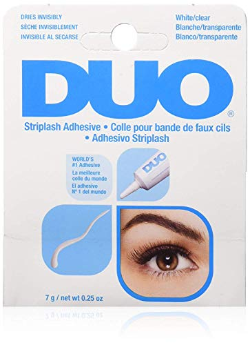 Duo Eyelash Adhesive 0.25oz White/Clear by Duo