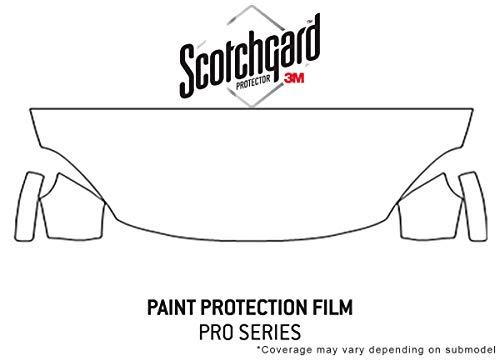 Rvinyl 3M Pro Shield Paint Protection Film Clear Bra Kit for Fiat 500x 2018 - Hood