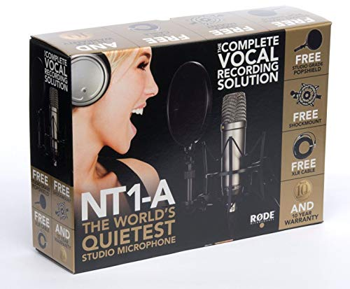 Rode NT1A (Großmembran-Kondensatormikrofon, Nierenkapsel, Audio Interface benötigt) - 8