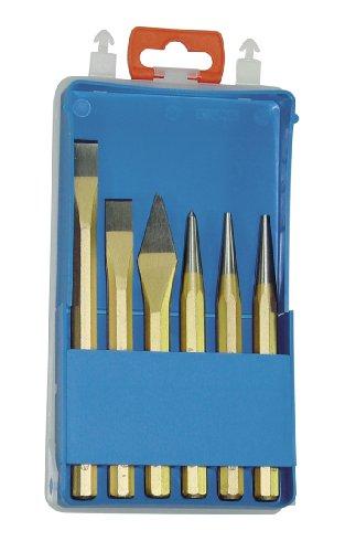 Rennsteig 421 001 0 - Juego de herramientas de golpeo (6 piezas, en estuche de plástico)