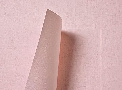 Tant Select Premium Papel reciclado de doble cara de lino rosa pálido en relieve, 116 g/m², 10 hojas