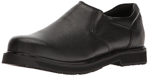 Dr. Scholl's Men's Winder II Work Shoe,Black, 10.5 D(M) US
