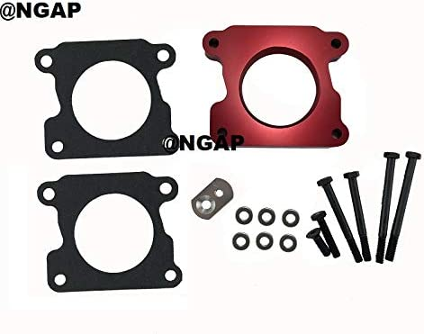 Red Aluminum Throttle Selling rankings Body Spacer Challenge the lowest price of Japan For S10 G Pickup 99-01 Chevy