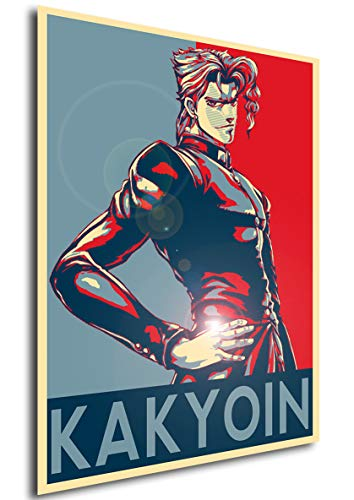Instabuy Poster Propaganda JoJo Kakyoin Manifesto 70x50