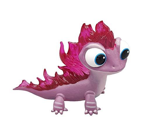 Bullyland 13515 - Figurine de Jeu, Walt Disney, Frozen 2, Salamander Bruni, Environ 6 cm de Haut, Figurine Peinte à la Main, sans PVC, pour Les Enfants pour des Jeux imaginatifs Multicolore