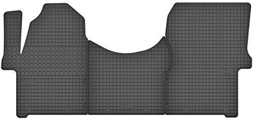 Motohobby Gummimatten Gummi Fußmatten Satz für Mercedes-Benz Sprinter II (2006-2018) / VW Volkswagen Crafter I (2006-2016) - Passgenau