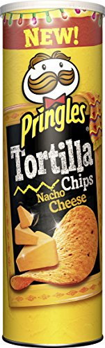 Pringles Tortilla Nacho Cheese, 6er Pack (6 x 180 g)