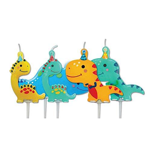 The Cake Decoration Co. AHC223 - Candele per feste, 5 pezzi