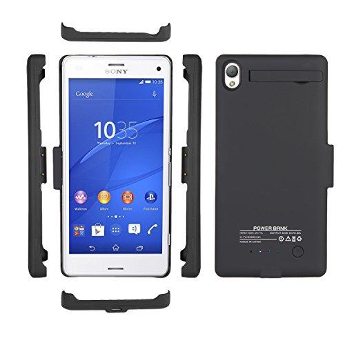 zukabmw Sony Xperia Z3 3200 Caja de batería Delgado Rechargable Cellphone Case...
