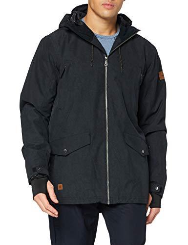 Quiksilver Drift Chaqueta de Nieve, Hombre, Negro, XL
