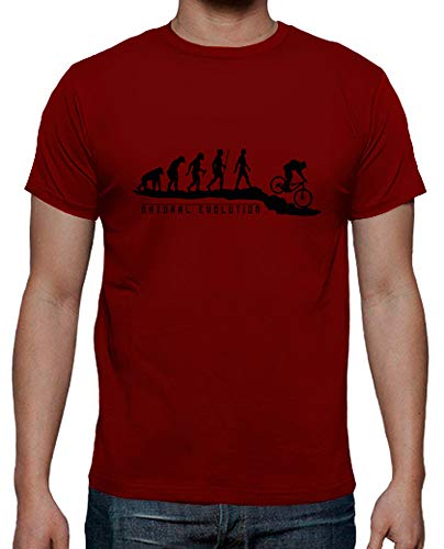 latostadora - Camiseta Natural Evolution MTB para Hombre