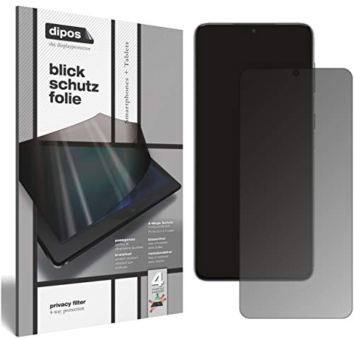 dipos I Protección de la Vista Compatible con Samsung Galaxy S21 Protector de Pantalla Privacy