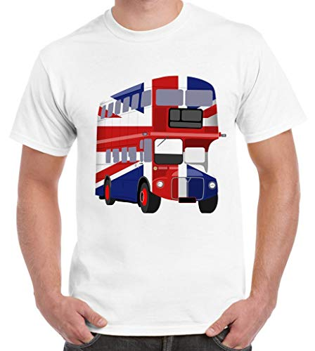 London Bus Union Jack Heren T-Shirt - Vlag Nederland