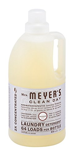 Mrs Meyers Clean Day 2X Lavender Laundry Detergent, 64 Ounce - 6 per case.